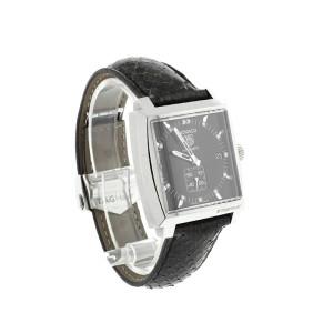 Tag Heuer Monaco Midsize Model #WAA2117 Mens Watch