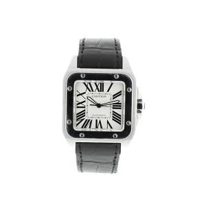 Cartier Santos 100 XL Stainless Steel Mens Watch