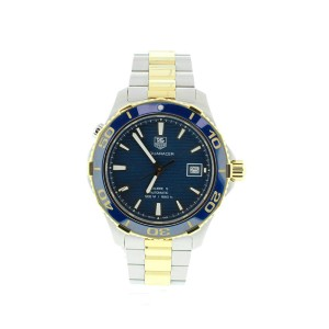 Tag Heuer WAK2120 Aquaracer Blue Dial Watch