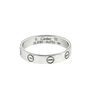 Cartier 18k White Gold Mini Love Ring