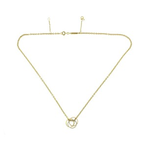 Cartier 18K Gold Trinity Necklace