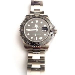 Rolex GMT Master II 116710LN 40mm Stainless Steel Watch