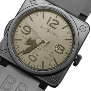 Bell and Ross BR01 97 Power Reserve Commando Limited Edition 46mm Watch