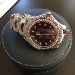 Tag Heuer Link Diamond Bezel 40mm Watch