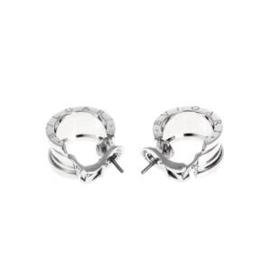 Bulgari B.zero1 18K White Gold Earrings