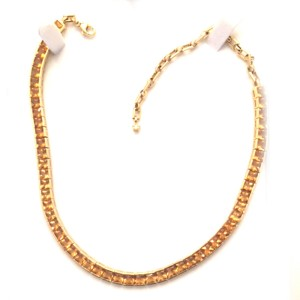H Stern Rio Grande 18K Yellow Gold Citrine and Diamond Tennis Necklace