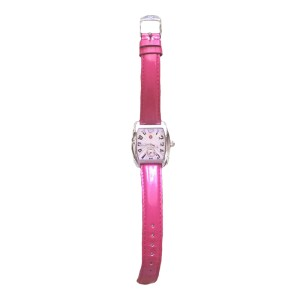 Michele Mini Urban Hot Pink Watch