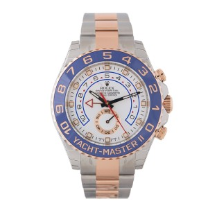 Rolex Yacht-Master II 116681 Steel/Pink Gold 44mm Watch
