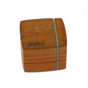 Simon G. 18K Yellow Gold 1.5ct. Diamond Eternity Band Ring Size 6