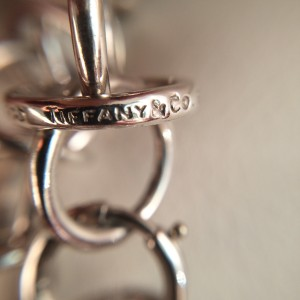 Vintage Tiffany & Co. Paloma Picasso Sterling Silver Woven Ring Links Bracelet