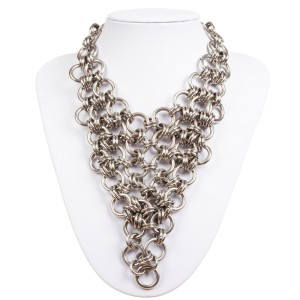 Chain Bib Bandana Necklace
