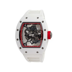 Richard Mille RM55 Bubba Watson White Asia Edition Watch