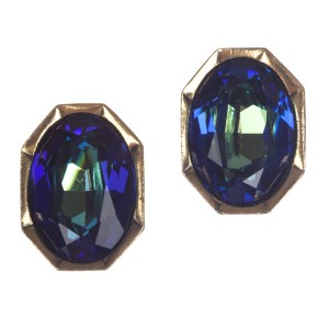 YSL Aurora Borealis Headlight Earrings