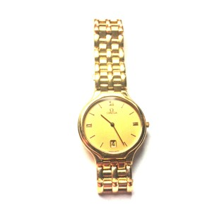 Omega Depose 18k Yellow Gold 32.11mm Watch