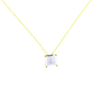 Ippolita Rock Candy 18K Gold Mini Single Square Necklace