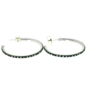 David Yurman Midnight Melange Earrings With Diamonds