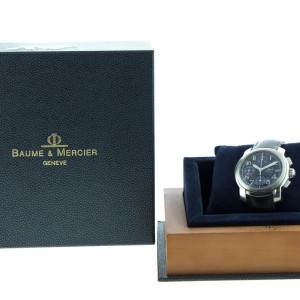 Baume Mercier Capeland Chronograph Model MV045216 Watch