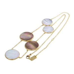 Ippolita 18K Yellow Gold Mother of Pearl Sautoir Necklace