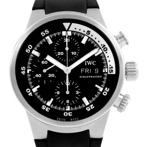 IWC Aquatimer IW371933 Stainless Steel Automatic 42mm Mens Watch