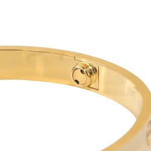 Cartier Love Bracelet 18K Yellow Gold Size 19