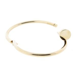 Cartier Juste Un Clou Yellow Gold Bracelet Size 19
