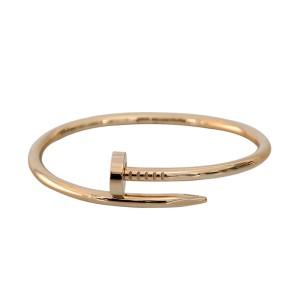 Cartier Juste Un Clou Bracelet Rose Gold Size 16
