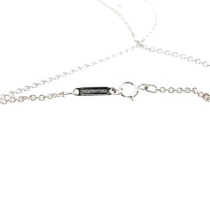 Tiffany & Co. Diamond Shape Pendant Necklace