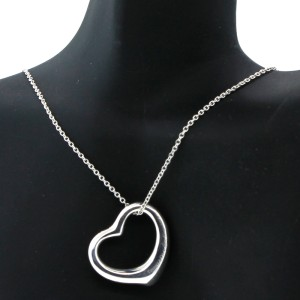 Tiffany & Co. Paloma Picasso Open Heart Pendant Necklace