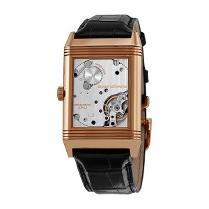 Jaeger Lecoultre Grande Reverso Black Dial Watch