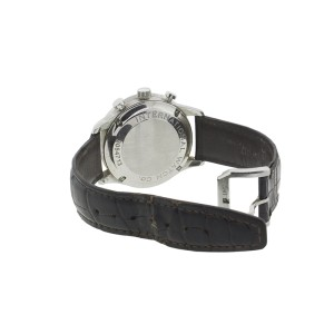 IWC Portuguese Silver Dial Chronograph Mechanical Men's Watch