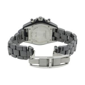 Chanel J12 Black Ceramic 41mm Chronograph Watch