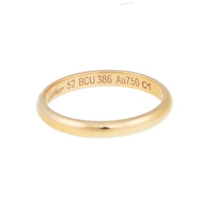 Cartier 18K Rose Gold Ring Size 6