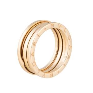 Bulgari 18k Yellow Gold B.Zero1 3 Band Ring Size 10.25