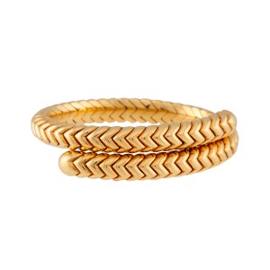 Bulgari 18K Yellow Gold Spiga Bracelet
