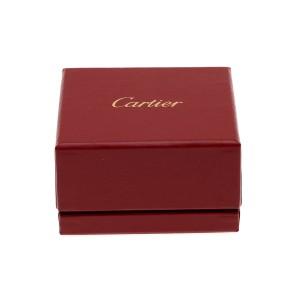 Cartier Panthère Earrings 18K White Gold Emerald Onyx 0.72ctw Diamond