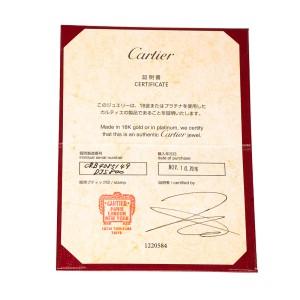 Cartier Mini Love Ring 18K White Gold Size 4.75