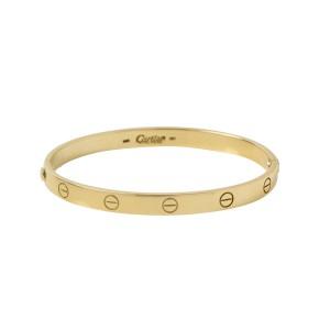 Cartier Love Bracelet Yellow Gold Size 19