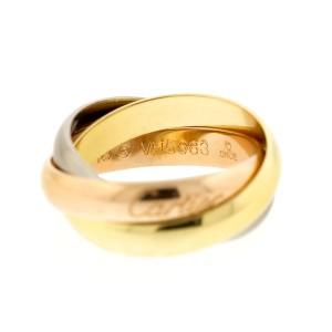 Cartier 18k Gold Trinity Ring Sz 4.75