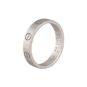 Cartier Platinum Love Wedding Band Size 5.25
