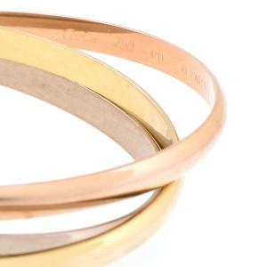 Cartier 18K Trinity Bangle Bracelet