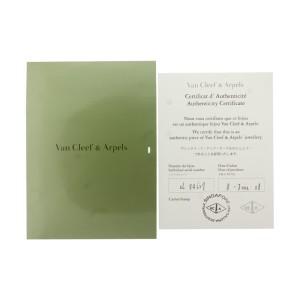 Van Cleef & Arpels 18k Yellow Gold Mother of Pearl Necklace