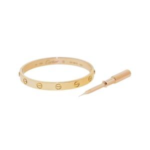 Cartier Love Bracelet Rose Gold Size 16
