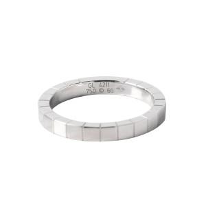 Cartier 18K White Gold Ranieru Ring Size 9
