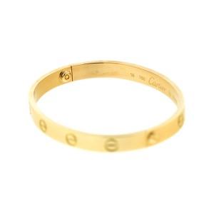 Cartier Love Bracelet 18k Yellow Gold Size 16
