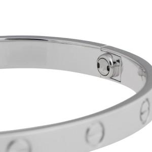Cartier Love Bracelet 18K White Gold Size 20