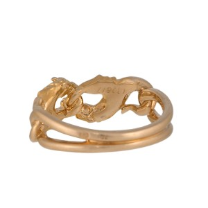 Carrera y Carrera 18K Yellow Gold Horse Ring Size 6.75