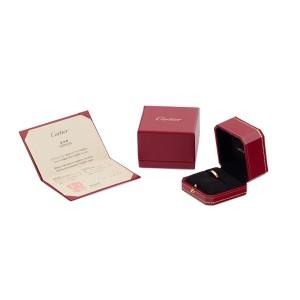 Cartier Mini Love 18K Rose Gold Ring Size 5.50-5.75