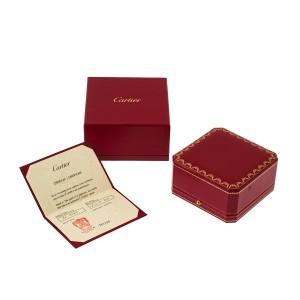 Cartier Love 18k White Gold Bracelet Size 17