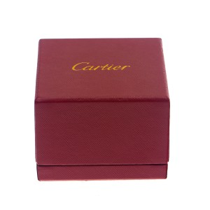 Cartier Tank Francaise 18K White Gold Ring Size 4.75