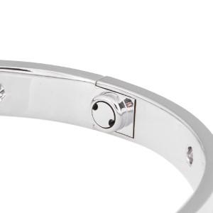 Cartier Love Bracelet 18K White Gold With Diamonds Size 19